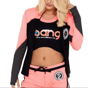 Bang energy workout jacket